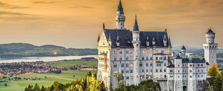Немецкие замки пользуются спросом у иностранцев